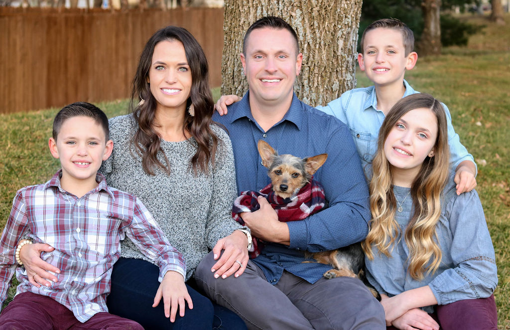 Carrie Briley and Family