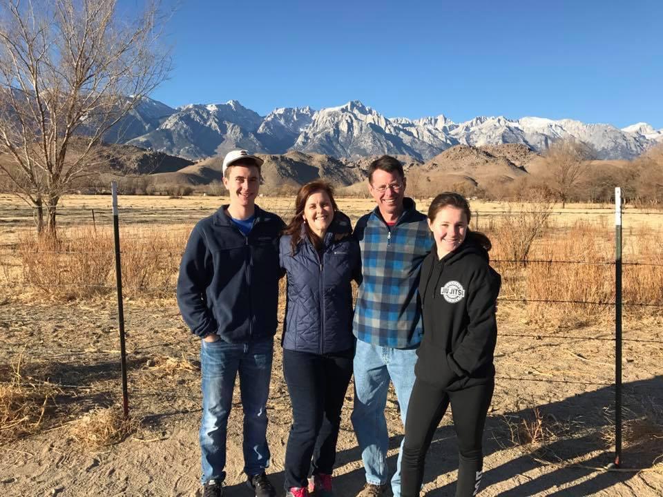 Jennifer Thomas and her family
