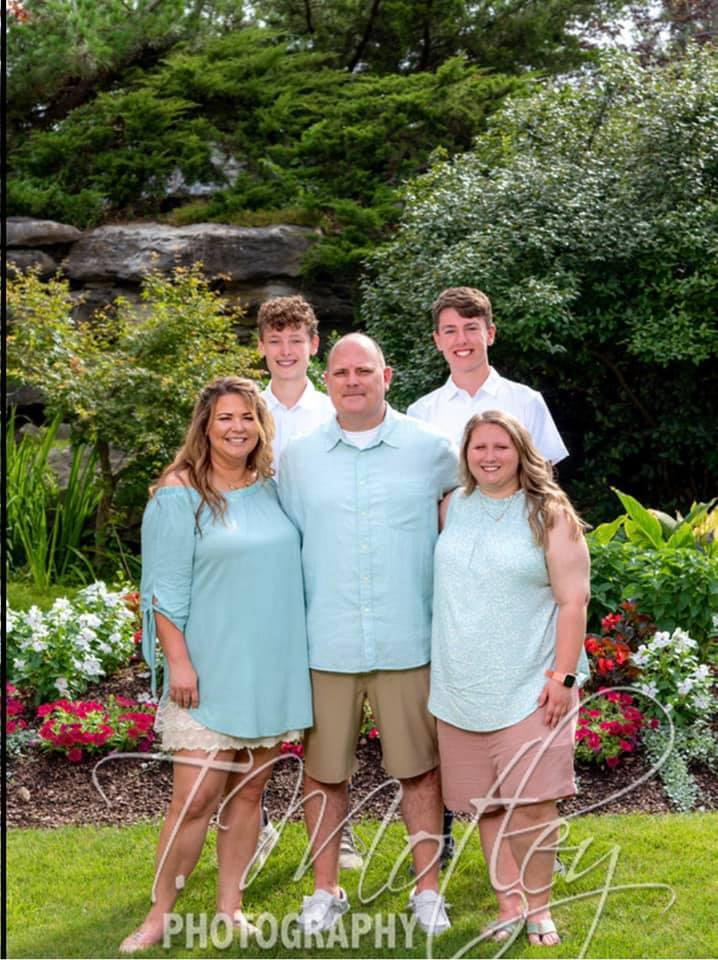 Kassie Campbell and her family